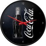 Coca Cola - Sign of good Taste - Wanduhr - 31cm Wanduhren - Metallausführung, Echtglasfront John Deere - nothing runs l...