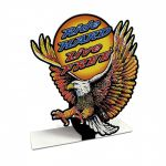 Ride Hard Live Free - Tischaufsteller Table Topper - Tischaufsteller Genuine Chevrolet Parts - Tischaufsteller Pon...